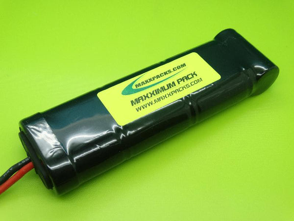 E1507S-9 8.4v 1500mah NiMH 7 cell 2/3 A Stick Pack