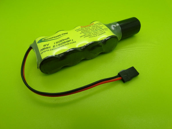 1605SP1 6v 1600mah NiMH 2/3 A Pack