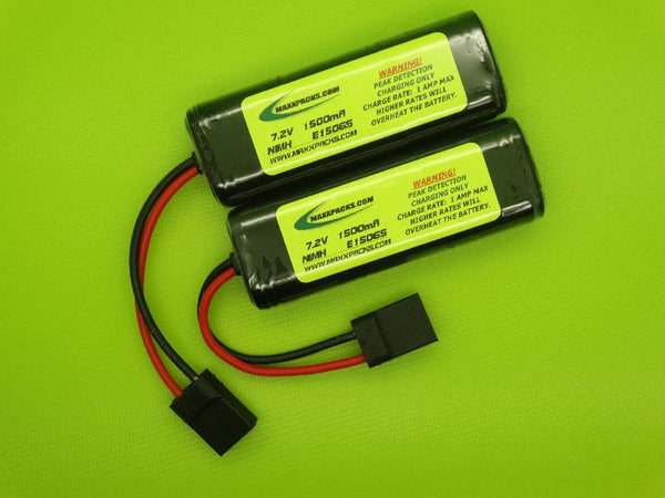 E1506S 7.2V 1500mAh MIMH BATTERY FOR 1/16 E-REVO, SLASH & SUMMIT
