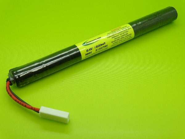 E1507AK ATTACK PACK 8.4v NiMH 1500mah Airsoft UMG, UMP, AK Battery,