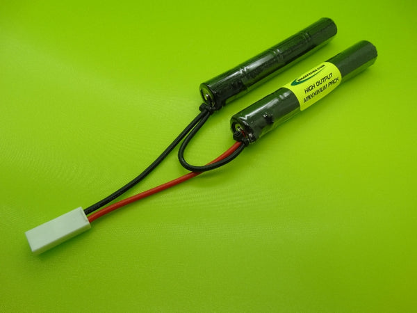 E1508CCR ATTACK PACK: 9.6v NiMH 1500mah Airsoft Pack