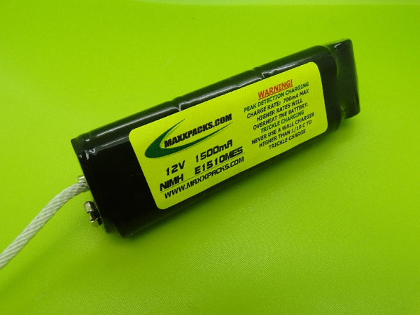 ELITE 1510MES 12v NiMH 1500mah MINELAB EXCALIBUR 800 & 1000 battery pack