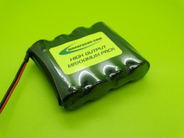 S4004F-Rx 4.8v 4000mah NiMH 4/3 A Pack SANYO/FDK CELL JAPAN