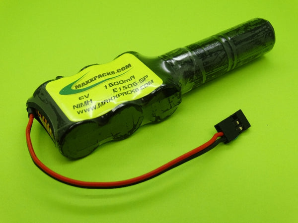 1605SP 6v 1600mah NiMH 2/3 A Pack