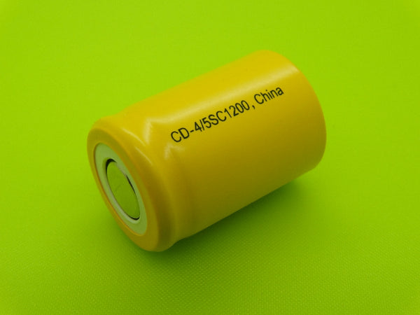 4/5 SC 1200mah Flat Top Nicad Cell