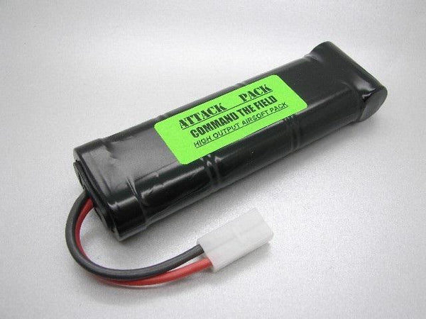 NC2209A ATTACK PACK: 10.8v Nicad 2200mah Airsoft Pack