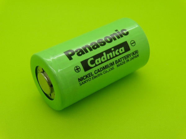 C 3000mah N3000CR Nicad Flat Top Cell (PANASONIC JAPAN)