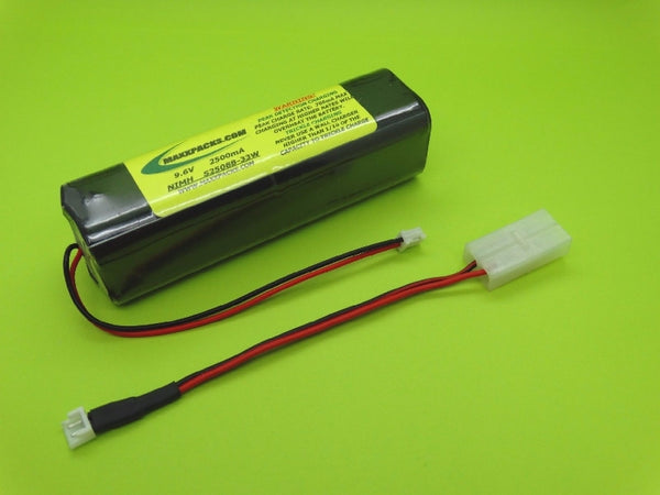S2508B-33W 9.6v 2500mah TWICELL NiMH, new style JR white connector