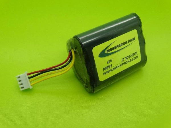 S2705H-BW 6V 2700mah NiMH BATTERY FOR BROOKSTONE PODZ WIRELESS SPEAKERS