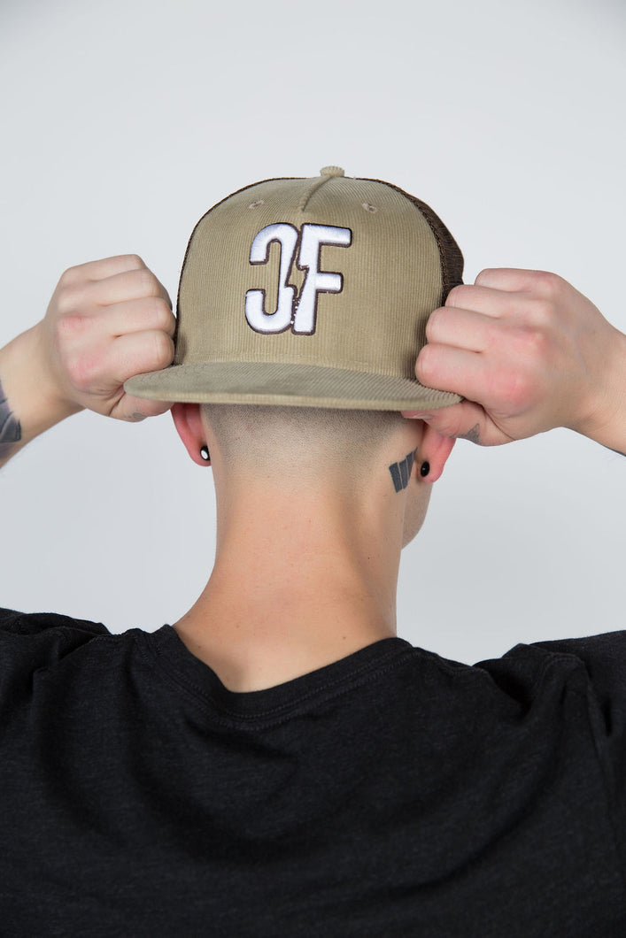 Country Fuzz Brown/Khaki Snapback Hat