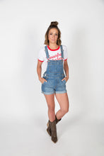 Load image into Gallery viewer, Country Western White/Red Ring Tee