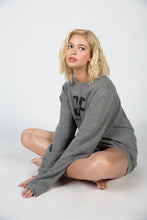 Load image into Gallery viewer, Country Fuzz Grey Sweatshirt