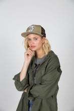 Load image into Gallery viewer, Country Fuzz Brown/Khaki Snapback Hat