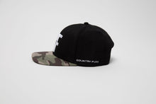 Load image into Gallery viewer, Country Fuzz Camo Snapback Hat