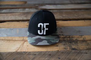 Country Fuzz Camo Snapback Hat
