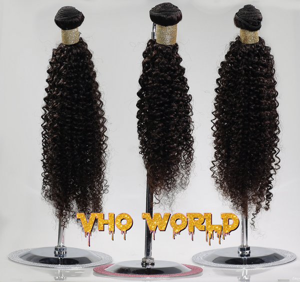 Brazilian Kinky Curly 7A Virgin Hair - VHO World