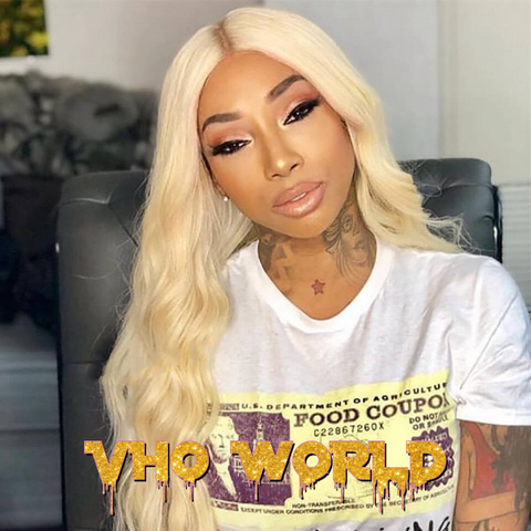 HD Transparent Lace Front Wig 613 Blonde Human Hair - VHO World