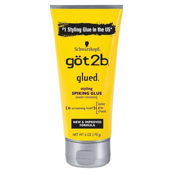Got2b Glued Styling Spiking Hair Glue (Yellowbottle) $4.75