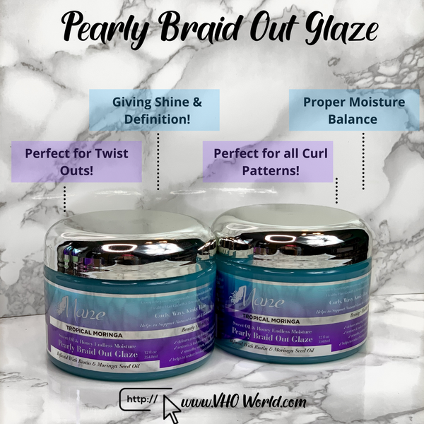The Mane Choice Pearly Braid Out Glaze