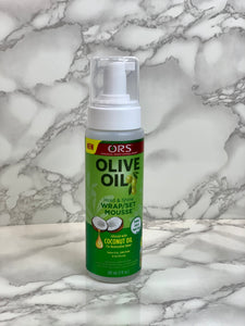 ORS- Olive Oil Wrap Set Hair Mousse