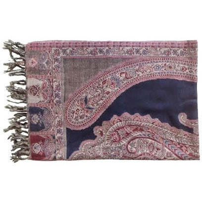 pashmina paisley schal nisha wohnaccessoires online shop indigo home. Black Bedroom Furniture Sets. Home Design Ideas
