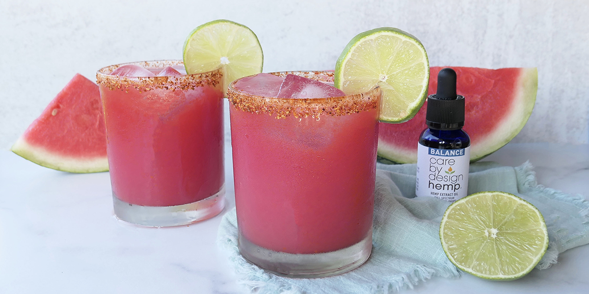 CBD-Infused Watermelon Limeade