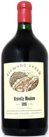 1991 Diamond Creek Gravellay Meadow Cabernet Sauvignon Napa Valley Kalifornien/3 Liter Flasche