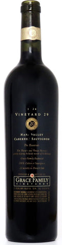 1994 Vineyard 29 Grace Faily Vineyards Napa Valley Kalifornien
