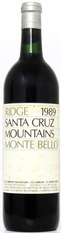 1989 Ridge Monte Bello Santa Cruz Mountains Kalifornien