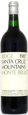 1987 Ridge Monte Bello Santa Cruz Mountains Kalifornien