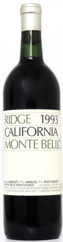 1993 Ridge Monte Bello Kalifornien