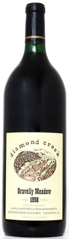 1998 Diamond Creek Gravelly Meadow Cabernet Sauvignon Napa Valley Kalifornien