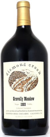 1989 Diamond Creek Gravellay Meadow Cabernet Sauvignon Napa Valley Kalifornien/3 Liter Flasche