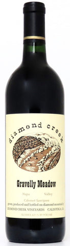 AUSVERKAUFT 2018 Diamond Creek Gravelly Meadow Napa Valley