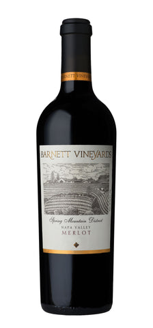 2017 Barnett Merlot Spring Mountain Napa Valley Kalifornien