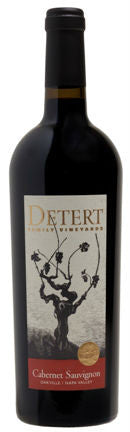 AUSVERKAUFT !!! 2015 Detert Family Vineyards Cabernet Sauvignon Oakville  Napa Valley Kalifornien