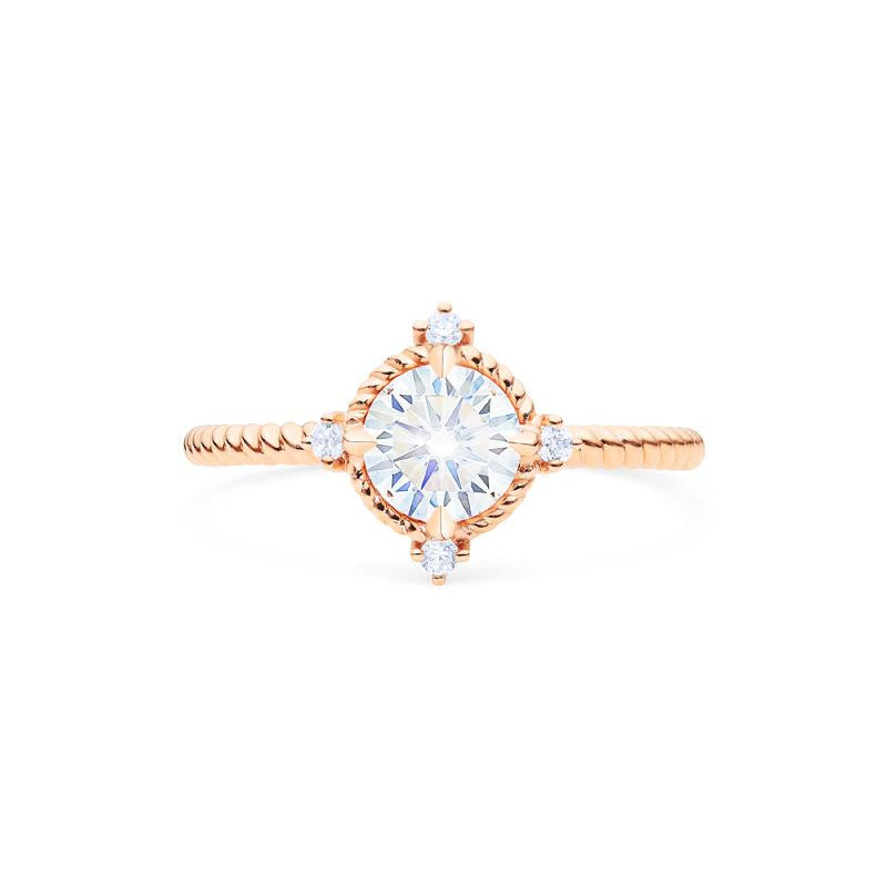 [Stella] Aura of Galaxy Ring in Moissanite - Michellia Fine Jewelry