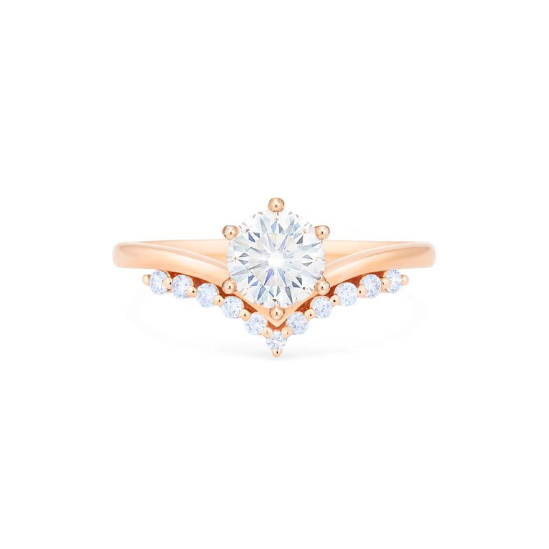 [Diane] Moonwake Ring in Moissanite - Michellia Fine Jewelry