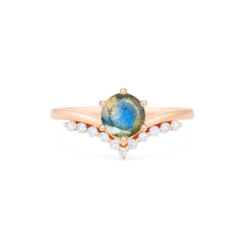 [Diane] Moonwake Ring in Labradorite - Michellia Fine Jewelry