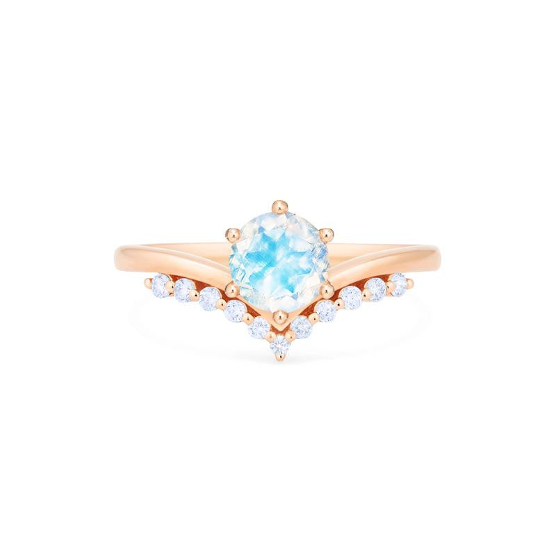 [Diane] Moonwake Ring in Moonstone - Michellia Fine Jewelry