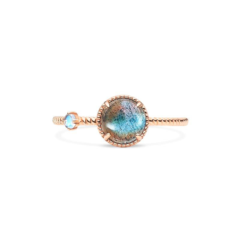 [Terra] Earth View Ring in Labradorite - Michellia Fine Jewelry