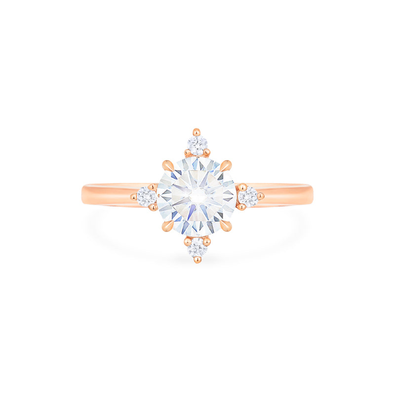 [Polaris] North Star Ring in Moissanite - Women's Ring - Michellia Fine Jewelry