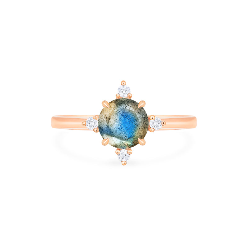 [Polaris] North Star Ring in Labradorite - Women's Ring - Michellia Fine Jewelry