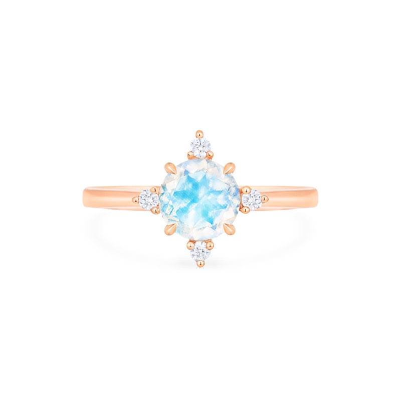 [Polaris] North Star Ring in Moonstone - Women's Ring - Michellia Fine Jewelry