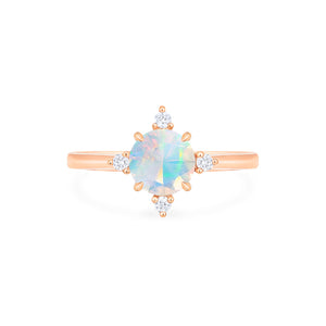 [Polaris] North Star Ring in Opal - Women's Ring - Michellia Fine Jewelry