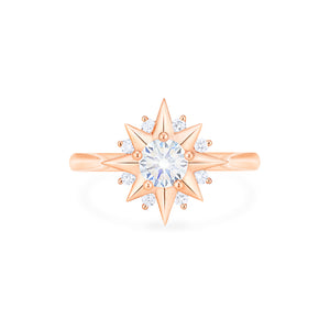 [Astra] Starlight Ring in Moissanite - Women's Ring - Michellia Fine Jewelry