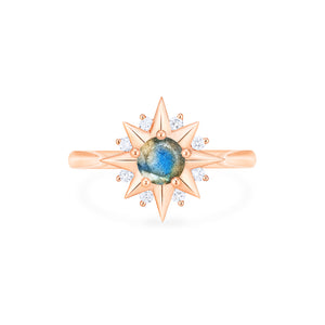 [Astra] Starlight Ring in Labradorite - Women's Ring - Michellia Fine Jewelry