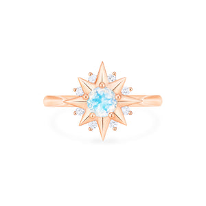 [Astra] Starlight Ring in Moonstone - Women's Ring - Michellia Fine Jewelry