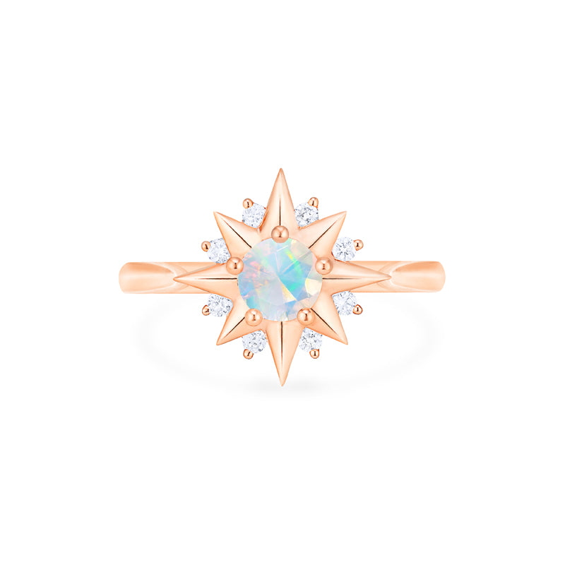 [Astra] Starlight Ring in Opal - Women's Ring - Michellia Fine Jewelry