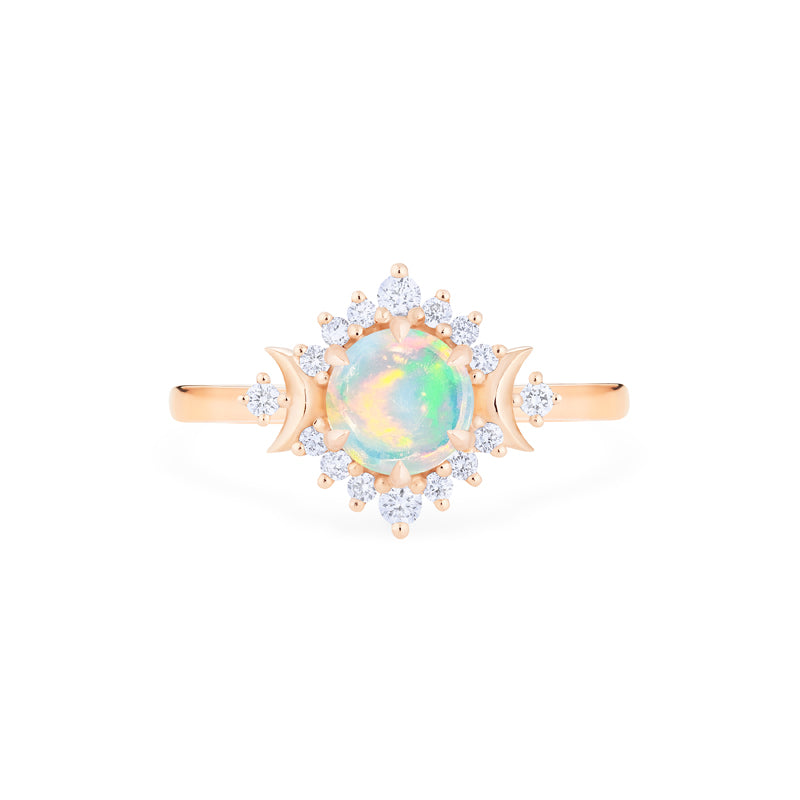 [Selene] Moon Goddess Ring in Opal - Women's Ring - Michellia Fine Jewelry